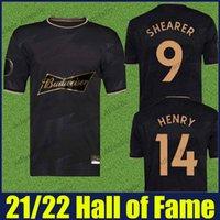 Hall of Fame Soccer Jerseys 2021 Alan Shearer Thierry Henry Chemises spéciales Football Starts V.Persie Bergkamp Cantona Owen Beckham Lampard Gerrard EXClusive Jersey