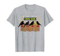 Crow Bar Pun Growbar Crows Bird Animals Lover T-Shirt
