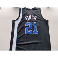121Rare jersey de basquete homens juventude mulheres tigres vintage larry finch tamanho preto s-5xl personalizado qualquer nome ou número
