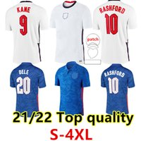 S-4XL Inglaterra Retro Jersey 20 21 Kane Foden Montagem Esterlina Rashford Sancho Maguire Grealish 2122 Camisas de Futebol Homens Kit Kit Uniformes Bellingham Saka