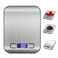 5000G 1G LED Electronic Digital Kitchen Scales Multifunction Food Stainless Steel LCD Precision Jewelry Scale Weight Balance