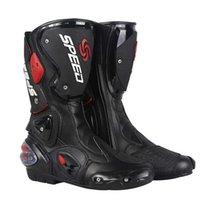 Motocicleta Long Mountain Motorcycle Racing Road Riding Shoes Antiskid Abrangente Proteção Cross Country Light Botas Profissionais