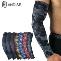 Sports Gloves Men Sun Cycling Sleeves Arm Warmers Breathable Quick Dry UV Protection Camo Sleeve Lycra Running Camping Golf Covers