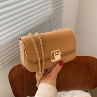 Evening Bags Shoulder Packet Metal Chain All-match Fashionable Package Ladies Fashion Small Square Pack Messenger Bag Designer