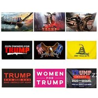 Trump Flags Election Women for Trump 3x5 Feet 100D Polyester 150x90cm Banner for Presidential Election Flags HWF10099