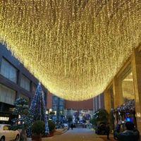 Strings Garden Street Outdoor Decorative Fairy Light LED Curtain Garland String Lights Lighting Christmas Wedding Holiday