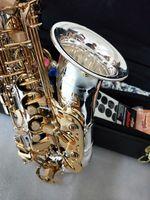 اليابانية ألتو ساكسفون ياناجيساوا A-W037 الآلات الموسيقية مطلي الذهب مفتاح الذهب الترويجية