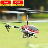 Helicóptero RC de alta velocidad más nuevo con Gyro 2.4GHz Control remoto RTF Aircraft 100M RC Distancia RC Juguetes para niños Juguetes de juego al aire libre
