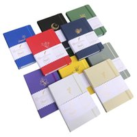 Buke Notebook 180GSM Ultra Bamboo Papel Dot Dot Revista 160pages 5 * 5mm, sin sangrado, dibujo bocetos para ideas 210611