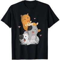 Men's T-Shirts Cute Animal Lover Gift Kawaii Pet Cats Manga Otaku Anime TShirt