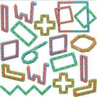 Moda colorata festa festa regali creativi catene di biciclette di serpente puzzle tortuose giocattoli per bambini partito adulto partito stress