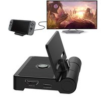 Портативный телевизионный док-станция для Nintendo Switch NS 3.0 Порт USB HDMI Складная зарядная подставка для зарядки Видео преобразователь