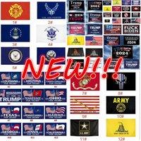 DHL FAST 126 estilos direto fábrica 3x5 Ft 90 * 150 cm Salvar America novamente Trump Bandeira eleitoral para 2024 Presidente EUA Atacado !!!