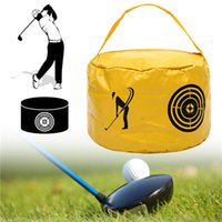 New Golf Power Impact Swing Aid Practice Smash Hit Strike Bag Beginner Trainer Exercise Package Multifunction Training Aids