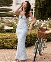 Vestido de damas Flores rotas Envuelva el pecho Sling Strap Slim Fashion Stick Ocio Ocio