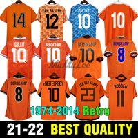 Gullit 1974 86 Retro Jersey 2012 Van Basten 1988 90 92 95 96 98 98 Holland Vintage Camisas Clássico 2000 02 10 12 14 Rijkaard Davids