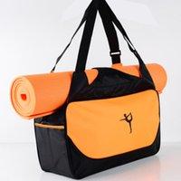 حصيرة اليوغا حقيبة كبيرة، حقيبة حمل الرياضة الرياضية خفيفة الوزن، حقيبة رياضية واحدة الكتف يمكن تخصيصها