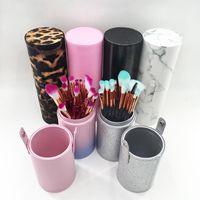 Pinceaux de maquillage 5/10/15 / 20pcs Tool de sirène Set Cosmétique Poudre Poudre Shadow Foundation Fonder En mélange Beauté de beauté Maquillage