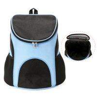 Sac à dos pour chiens de chat portable sac de portefeuille pour animaux de compagnie respirant maille maille chiot Sacs de voyage petit chihuahua sortant sacs à main voiture