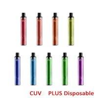 영어 패키지 hod cuvie plus 포드 1200 퍼프 일회용 전자 담배 장치 vape 펜 스타터 키트 950mAh 배터리 5.0ml 증기 도매