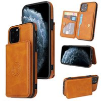 Custodie per telefoni cellulari in pelle da portafoglio magnetica per iPhone 13 12 11 Pro Max XR XS 8 7 Samsung Galaxy S21 S20 Plus Ultra A12 A32 A42 A52 A72 5G Custodia cellulare