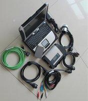 MB Star C4 Laptop Compact 4 SD Connect con SSD Super V2021.03 CF19 Diagnosi del computer Automobili Auto Trucks 12V 24V