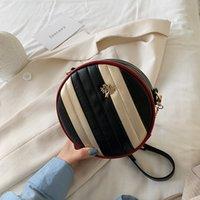 여자 여자 무지개 원형 지갑 어린이 금속 트리 체인 메신저 가방 키즈 원 - 어깨 가방 디자이너 미니 지갑 758 v2