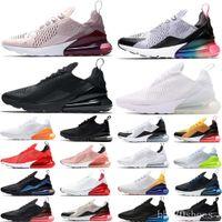 270 Yeni Gelenler 2021 tasarımcı Erkekler Ayakkabı Siyah Üçlü Beyaz Yastık Bayan Sneakers Atletizm Eğitmenler Koşu Ayakkabıları boyutu 36-45