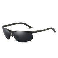 Fashion riding glasses men's polarized sunglasses sunglasses aviation aluminum magnesium men's Sunglasses color changing glasses 6806