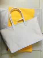 패션 브랜드 디자인 GY 여성 PU 가죽 핸드백 대형 토트 백 프랑스어 쇼핑백 GM 사이즈 GOYA 토트