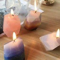 3D силиконовые каменные свечи формы DIY соевые мыло ароматерапия свечи воска гипсовые формы