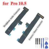 1Pcs OEM For iPad Pro 10.5 A1701 A1709 Long Short Motherboard Main Camera Power Button Headphone Audio Jack Connector Flex Cable Adaptor Ribbon Replacement Parts