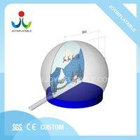 Globi gonfiabili gonfiabili giganti del PVC trasparenti all'aperto per le tende e i rifugi natalizi