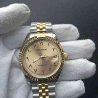 Designer Watch Zegarki marki Luksusowy Zegarek SS Ste Steel Wrist Arabian Muzułmańskie Zegary Wodoodporna Automatyczny Ruch Mechaniczny Maszyna