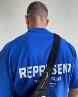 2021 Europa Reino Unido Representa Proprietários Clube T Camiseta High Street Tee Spring Skates UNISEX Streetwear Tshirt