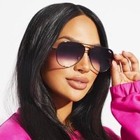 Sunglasses HIGH KEY Pilot Women Fashion Quay Brand Design Traveling Sun Glasses For Gradient Lasies Eyewear Female Mujer Qmtuj