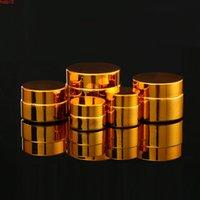 5G 10G 20G 30G 50G Boş UV Kaplama Altın Gümüş Cam Kozmetik Konteyner, Doldurulabilir Paket F1390High Miktar