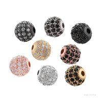 8mm Azorite Bead FAI DA TE Ornamento Micro Diamante Set rotondo perline della mano rotonda Ornamenti in perline a mano elegantemente progettati ARTI FINE E BENE PESTA T9I001274