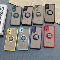 Kickstand Ringkoffer für Moto G Play 2021 g Stylusleistung 5G ACE-Halter 360 Grad Fall Samsung A12 A32 52 5G LG K92 STYLO 7