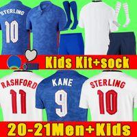 Top Thailand quality FODEN e n g lAnd football soccer jerseys 2021 KANE STERLING RASHFORD MOUNT LINGARD SANCHO 21 22 national shirt men + kids kit sets socks uniform