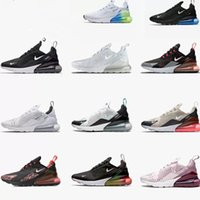2021 Airs 270 MAX Mens Women Black white Casual Plastic Training Outdoor Athletic Running sports Sneakers shoes