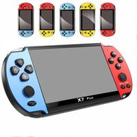 8GB X7 PLUS Handheld Game Player 5.1 Inch PSP Screen Portable Game Console MP4 Player with Camera TV Out TF Video for GBA NES Game