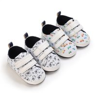 First Walkers Cartoon Car Baby Shoes Sneakers PU Soft Boy Non-slip Born Toddler Girl Sports