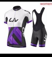 LIV equipo mujer ciclismo jersey traje verano rápido seco carreras ropa de manga corta uniforme de deportes carretera ropa de bicicleta ropa ciclismo y2104090