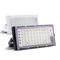 Full Spectrum LED CREE Plomo Cultive Luz para plantas de hortalizas de interior Semillas y cultivo 220V 50 ~ 100W IP65 Lámpara de crecimiento de la planta de jardinería impermeable 127 * 30 * 125mm