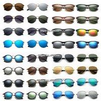 디자이너 선글라스 폴라로이드 렌즈 전체 프레임 남성 여성 럭셔리 클래식 패션 Anti-UV Unisex 야외 사이클링 운전 태양 유리 아이웨어 무료 상자와 도매