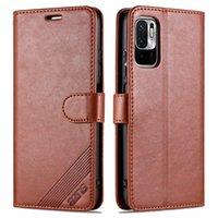 Casos de telefone celular maravilhoso cobrem soft tpu luxo colorido flip carteira capa de couro para xiaomi redmi nota 10 pro 5g