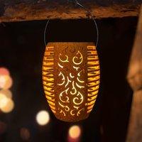 Lawn Lamps LED Solar Light Garden Lamp Flicker Flame Lantern Hanging Outdoor Decoration Waterproof Sunlight Street