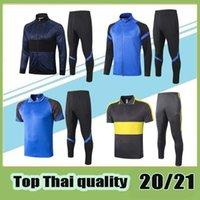 Top-Qualität 2020 2021 Sensi Trainingsanzug Fußballjacke Kits Alexis Nainggolan Lautaro Perisic 20 21 Lukaku Jacket Training Set