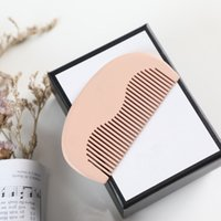 Mini Nette kleine Kämme Pinsel Praktische Sandelholzkamm mit Geschenkbox Designer für Frauen Mädchen Holiday Gifts RRD7726